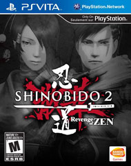 Shinobido 2: Revenge of Zen Box Art