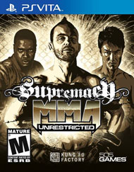 Supremacy MMA: Unrestricted Box Art