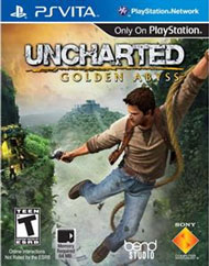 Uncharted: Golden Abyss Box Art