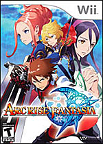 Arc Rise Fantasia box art