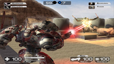 Battle Rage screenshot