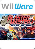 Blaster Master: Overdrive box art