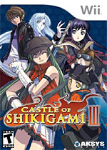 Castle of Shikigami III box art