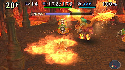 Chocobo's Dungeon: Toki-Wasure no Meikyuu screenshot