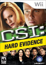 CSI: Hard Evidence box art