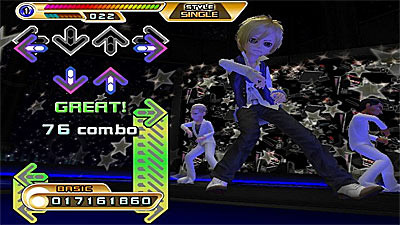 Dance Dance Revolution: Hottest Party 2 screenshot