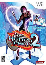 Dance Dance Revolution: Hottest Party 2 box art