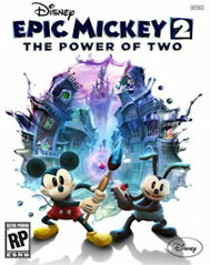 Disney Epic Mickey 2: The Power of Two Box Art