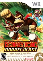 Donkey Kong: Barrel Blast box art