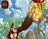 New Play Control! Donkey Kong Jungle Beat screenshot - click to enlarge
