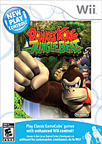 New Play Control! Donkey Kong Jungle Beat box art
