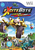 ExciteBots: Trick Racing box art