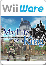 Final Fantasy Crystal Chronicles: My Life as a King box art