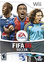 FIFA Soccer 08 box art