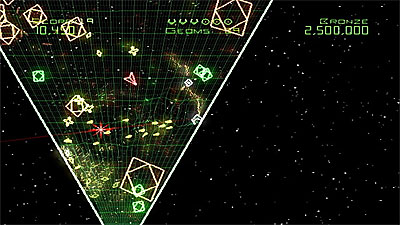 Geometry Wars: Galaxies screenshot