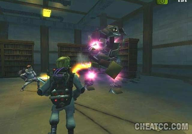 ghostbusters ps2 cheats