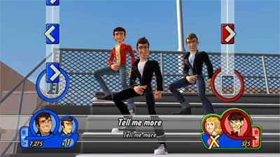 Grease: The Game screenshot