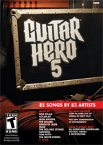 Guitar Hero 5 box art