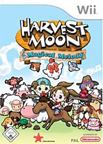 Harvest Moon: Magical Melody box art