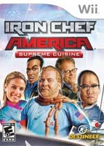 Iron Chef America: Supreme Cuisine box art