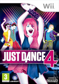 Just Dance 4 Box Art