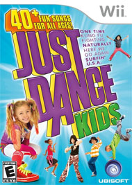 Just Dance Kids Box Art