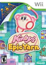 Kirby&#146s Epic Yarn box art