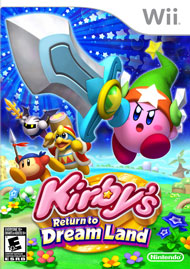 Kirby's Return to Dream Land Box Art