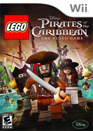 LEGO Pirates of the Caribbean: The Video Game Box Art
