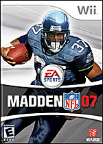 Madden NFL 2007 box art