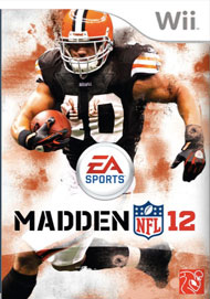 Madden NFL 12 Box Art