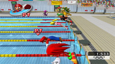 Mario and Sonic at the Olympic Games screenshot