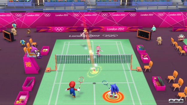 Mario & Sonic at the London 2012 Olympic Games Screenshot - click to enlarge