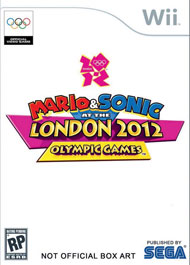 Mario & Sonic at the London 2012 Olympic Games Box Art