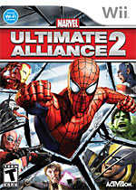 Marvel Ultimate Alliance 2 box art