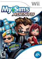 MySims Agents box art