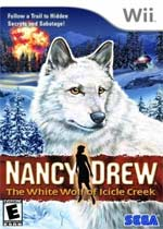 Nancy Drew: The White Wolf of Icicle Creek box art