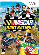 NASCAR Kart Racing box art