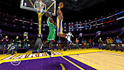 NBA Live 09: All-Play screenshot