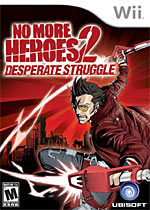 No More Heroes 2: Desperate Struggle box art
