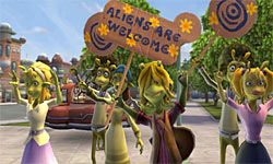 Planet 51 screenshot