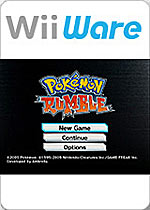 Pok&#233mon Rumble box art