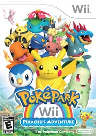 PokePark Wii: Pikachu's Adventurebox art
