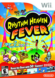 Rhythm Heaven Fever Box Art