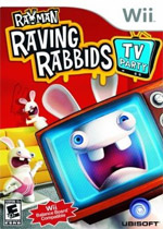 Rayman Raving Rabbids TV Party box art