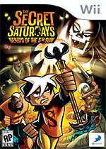 The Secret Saturdays: Beasts of the 5th Sun box art