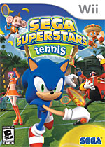 Sega Superstars Tennis box art