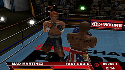 Showtime Championship Boxing screenshot