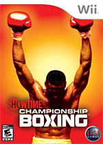 Showtime Championship Boxing box art