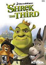 Shrek the Third box art